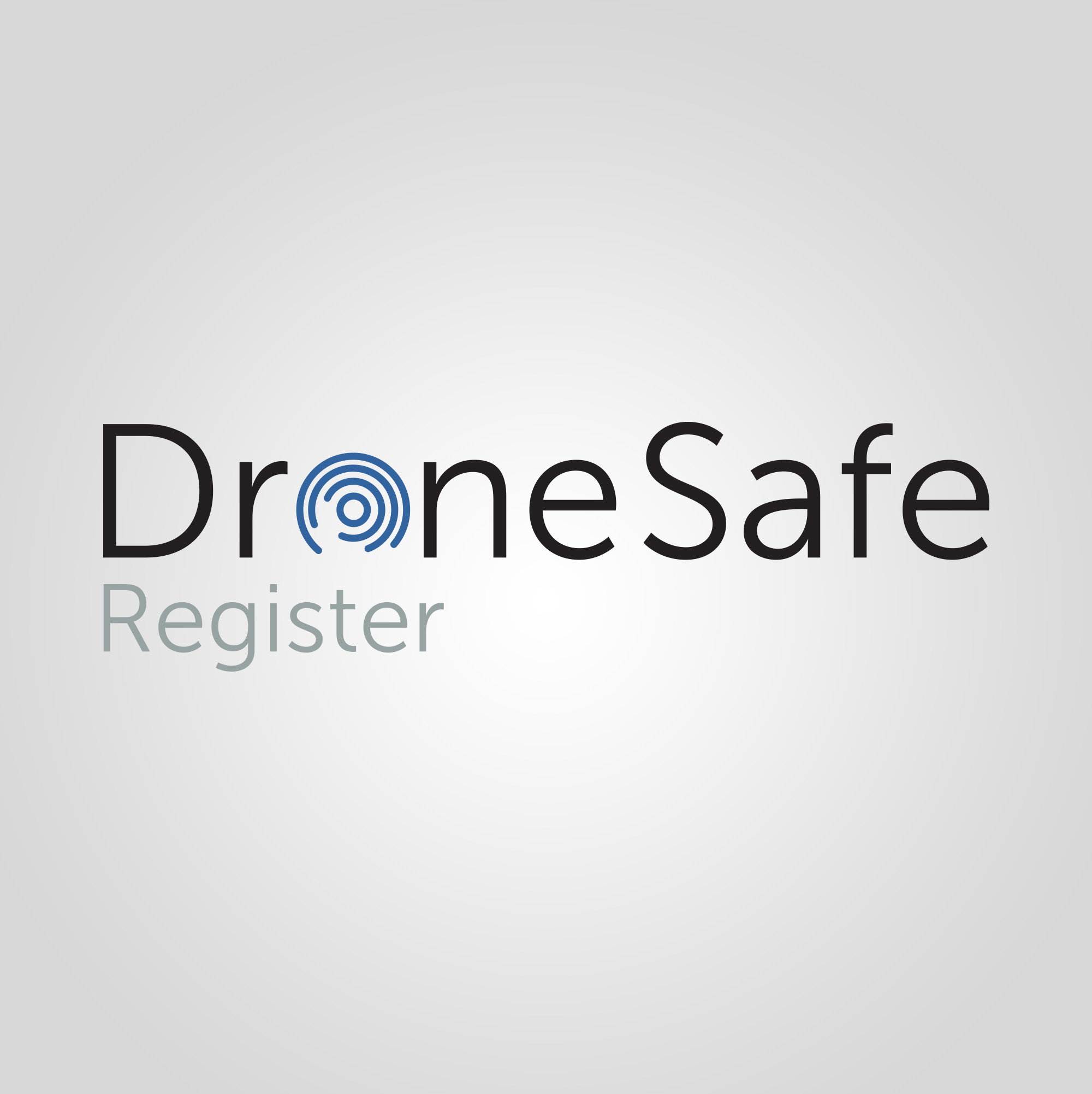 Drone Safe Register Logo Design